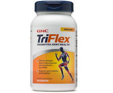 GNC TriFlex Supplement, 120 Caplets, Glucosamine And Chondroitin Promotes Joint