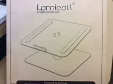 LAMICOLL  METAL LABTOP IPAD DESK ROTATING STAND IDEAL FOR OFFICE HOME ETC