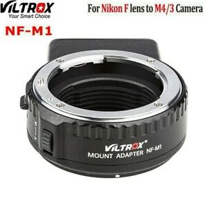 Viltrox NF-M1 Auto focus Lens Adapter for Nikon F Mount to Micro 4/3 M4/3 Camera
