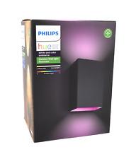 Philips 1746430P7 Hue White & Color Ambiance Resonate LED-Außenwandleuchte - Schwarz
