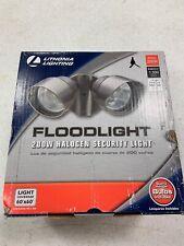 Lithonia Lighting 2-Lamp Flood light Security Light R3