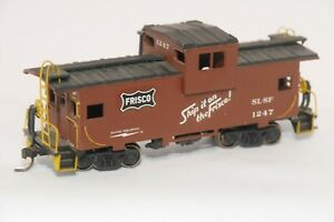 FRISCO CABOOSES #'S 1247 & 1274 -- HO SCALE MODELS