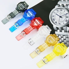 Transparent Resin Wrist Band for Casio BABY-G Strap Watch Bracelet Sport Fashion