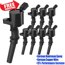 8Pcs Ignition Coils Fit Ford 4.6L 5.4L F-150 XL F250 F550 4.6/5.4L FD503 DG508