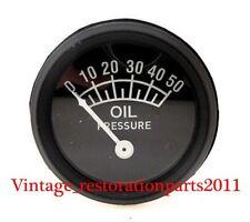 AFTERMARKET FORD OIL PRESSURE GAUGE 52MM , 8N 9N 2N (50LB) - 9N9273A