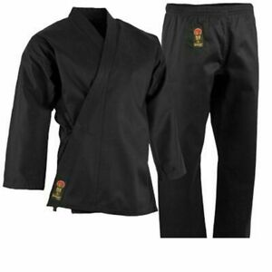 ProForce 7.5 oz Middleweight Karate Uniform (Elastic Drawstring) Gi Pants w Belt