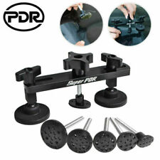 Auto Body Dent Puller Bridge PDR Tools Paintless Dent Repair Hail Removal w/Tabs