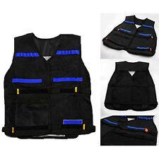 Adjustable Tactical Vest Jacket Foam Bullet Holder for Nerf N-Strike Elite Team