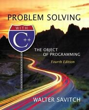 Problem Solving with C++: The Object of Programming (4th Edition)