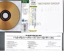 PAT METHENY GROUP  First Circle JAPAN Mini-LP CD 24k GOLD UCCE-9039 w/OBI+INSERT