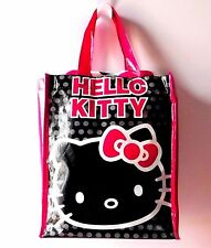 NEW Hello Kitty Sanrio Black Dots Blanket Throw & Reusable Tote Bag 40x50 Inches
