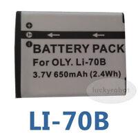 LI-70B LI70B Battery for Olympus VG-145 VG-160 VG-120  FE-4020 FE-4040 VG-110