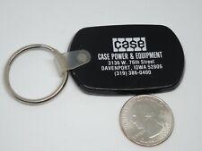 Rubber Case Power & Equipment Davenport Iowa Keychain