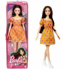 Barbie Fashionistas Doll #160 with Long Brunette Hair