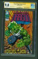 Savage Dragon Limited Series #1 CGC 9.8 SS Signed Erik Larsen 1992 1st First app