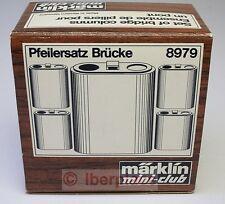 Z 1:220 Märklin 8979 pilars bridge columns Pfeilersatz ensemble piliers miniclub