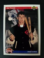 1992 Upper Deck Star Rookie Jim Thome Cleveland Indians Card #5