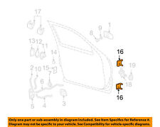 GM OEM-Door Hinge-Lower Right 12472844