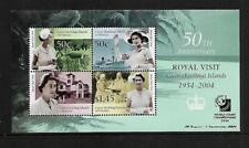 2004 Royal Visit Anniversary Singapore Stamp Show Mini sheet MUH/MNH as scan