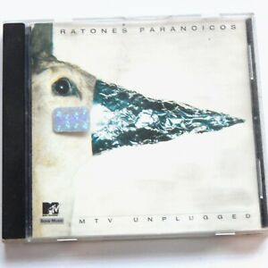 LOS RATONES PARANOICOS MTV UNPLUGGED CD 1998 Argentine Rock Band