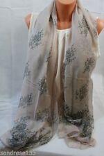 Damen-Schals & -Tücher aus Viskose/Rayon Blumenmuster Blumen