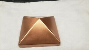 4x4  Copper Deck Post Caps 6 pack