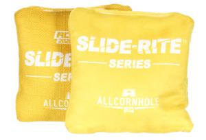 Brand New Slide Rite Cornhole Bags Yellow 2020/2021 ACL PRO Stamp