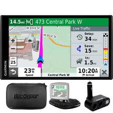Drivesmart 65T Gps Navigator (Refurbished) + Universal Bundle + Case, Car Socket