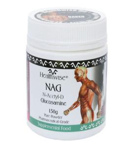 Healthwise NAG (N-Acetyl-D Glucosamine) 150g Powder