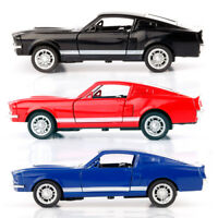 Metal Alloy Diecast Pull Back Car Door Openable Toys for Kids Gift GT500 1:32