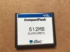 512MB Stec CompactFlash Memory Card SLCF512M2TU- New