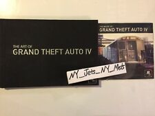 GTA 4 LOT : Art Book & Music soundtrack of Grand Theft Auto IV XBOX Playstation
