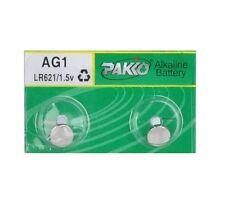 AG1 (2) LR60 SR621 SR621SW, 364 1.5V Alkaline Cell Button Coin Battery US SELLER