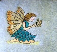 EMBROIDERED  BATH TOWEL  -  FAIRY