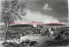 Civil War BATTLE OF CHANCELLORSVILLE Hooker Lee General 1864 Art Print Engraving