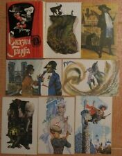 Lot 16 Russian Child Set Hauff Fairy Tale Kid card Old Story Children magician