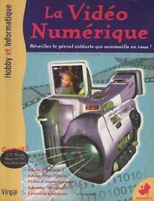 Livre +CD La Vidéo Numérique PRISES DE VUES Retouches SONORISATION Trucage VIRGA