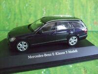 Schuco  Modell in 1:43   Mercedes T-Modell Estate in Blaumetallic und in OVP