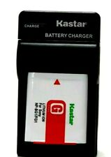 Kastar Battery AND Wall Charger Sony NP-BG1 NPFG1 Sony Cyber-shot DSC-H50 Camera