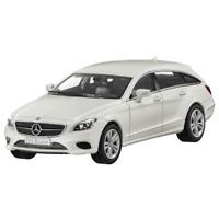 Mercedes-Benz Modellauto 1:43 PKW X218 CLS Shooting Brake weiss B66961937