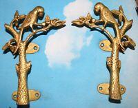 Parrot Shape Door Handle Vintage Beautiful Brass Handmade Victorian Style BM45