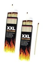 2 X XXL Long 20cm Safety Wooden Matches Barbecue Lighter 40pcs Candle