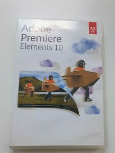 Adobe Premiere Elements 10 (PC/Mac) with Serial Number - 5 DVD Box