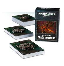 Chaos Daemons Datakarten (Deutsch)Games Workshop Chaos Dämonen Datacards 8th