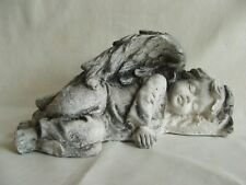 LATEX MOULD MOULDS MOLD.       NEW  SLEEPING ANGEL IN WINGS