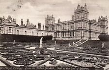 Mentmore Towers from the Italian Gardens - Buckinghamshire 1906 Postcard (BBN)