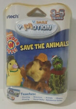 "VTech V.Smile V-Motion NICKELODEON WONDER PETS ""Save the Animals"" Cartridge IOB!"