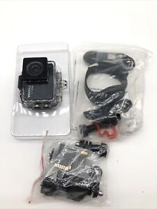 Vivitar 4K Wi-Fi Action Cam DVR917HD 16MP Waterproof Casing Used Only Once
