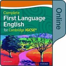 Primer idioma inglés completo para Cambridge Igcse por la Universidad de Oxford..