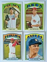 2021 Topps Heritage Short Print SP Lot From  401-500 You Pick  Finish Your Set